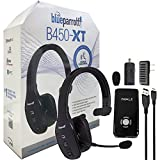 VXi BlueParrott B450-XT Noise Canceling Bluetooth Headset ''HD & NFC'' Headset For iOS & Android - with Home/Car Charger & iWalk Battery Pack Charger (Certified Refurbished)