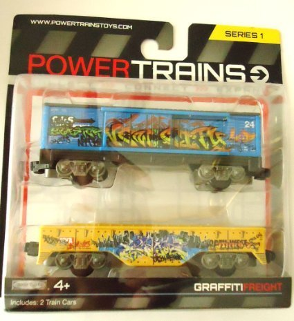 Power Trains 2 Pack - Graffiti Freight for sale  Delivered anywhere in USA