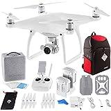 DJI Phantom 4 Quadcopter Drone w/Backpack for DJI Phantom Drones + Spare Intelligent Flight Battery DigitalAndMore Bundle