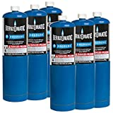 Tools & Hardware : Standard Propane Fuel Cylinder - Pack of 6