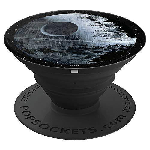 Star Wars Death Star Up Close In The Sky - PopSockets Grip and Stand for Phones and Tablets