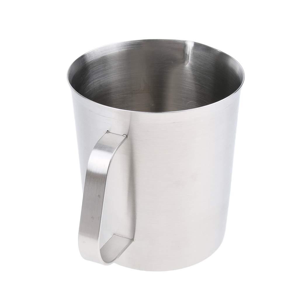 kesoto 304 Stainless Steel Measuring Cup Jug Mug Cafe Home