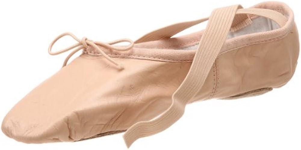 Pink 8.5 D US Bloch Prolite II Leather