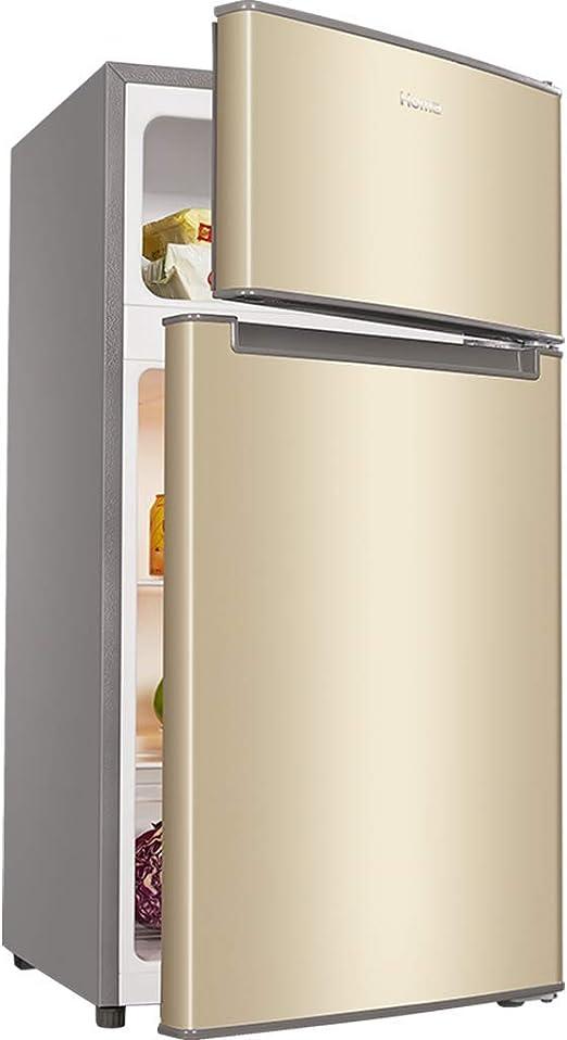 refrigerador de Doble Puerta, congelador, 102L, Ahorro de energía ...