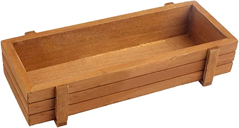 Flower Planter Trough Pack Of 3 Wooden Plant Seeds Box Indoor