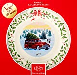 Lenox 869947 Annual Holiday Plate 2017, 27th