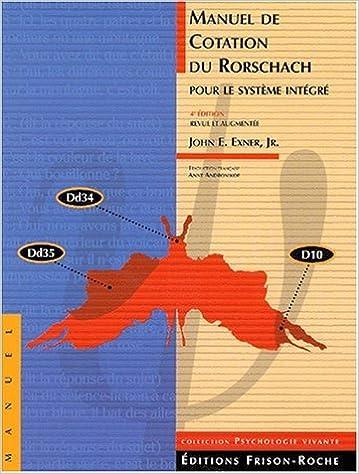 Lire un Manuel de Cotation du Rorschach avec Tables de Reference pdf, epub ebook