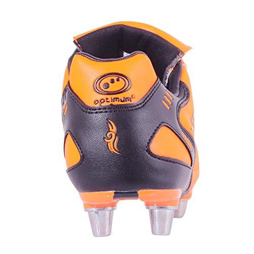 Optimum Tribal, Herren Rugbyschuhe Fluro Orange/Black