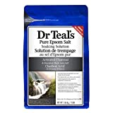 Dr Teal's Activated Charcoal Epsom Salt, 1.36 Kilogram