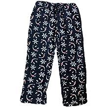 Joe Boxer Men's Fleece Smiley Face Pajama Lounge Pants - Navy Blue