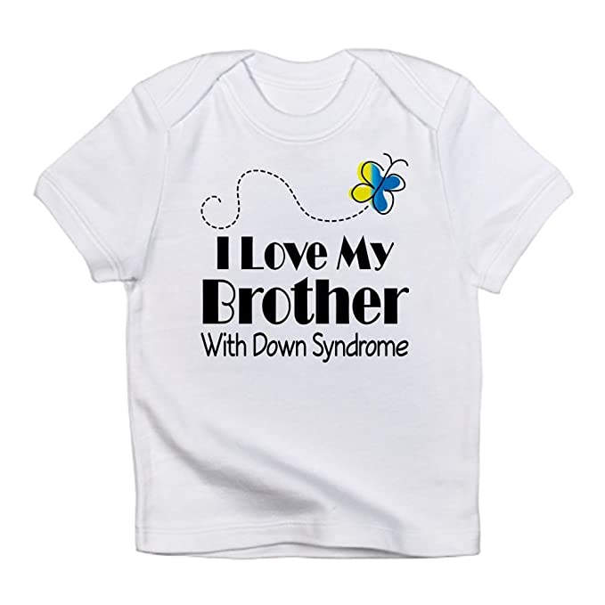 23ab2e4762 CafePress - Down Syndrome Brother Infant T-Shirt - Cute Infant T-Shirt,