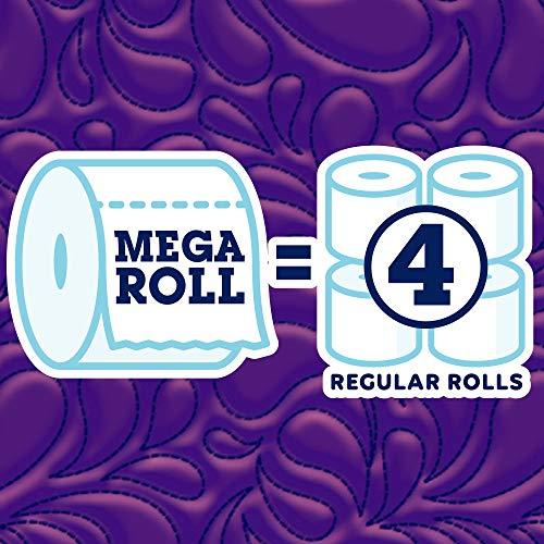 Quilted Northern Ultra PlushToilet Paper, 24 Mega Rolls, 24 = 96 Regular Rolls, 3 Ply Bath Tissue