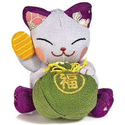 The Japanese Show Miyo Chan - Gato de la fortuna japonés de peluche ...