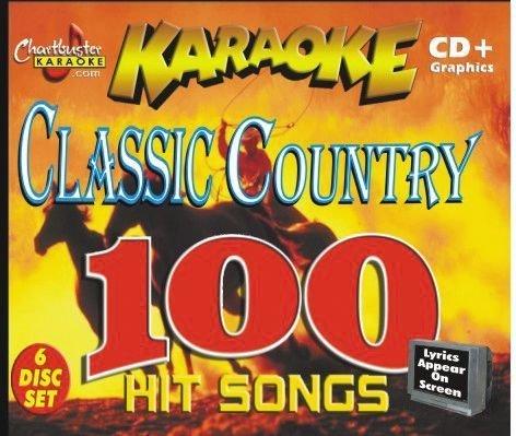 Chartbuster Karaoke Classic Country Volume 1 CD+G
