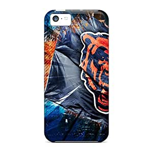 Hot Chicago Bears First Grade Tpu Phone Case For Iphone 5c Case Cover