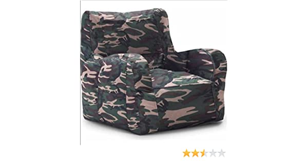 Amazon.com: Big Joe SmartMax Duo Bean Bag Chair, Multiple Colorsu0027CAMOu0027:  Kitchen U0026 Dining