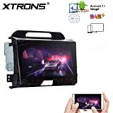 XTRONS Android 7.1 Quad Core 9 Inch 2G RAM 32G ROM HD Digital Multi Touch Screen Car Stereo Radio Player GPS OBD2 with Full RCA Output for KIA Sportage Series 3