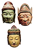Design Toscano Processional Masks of The Devas Statue For Sale