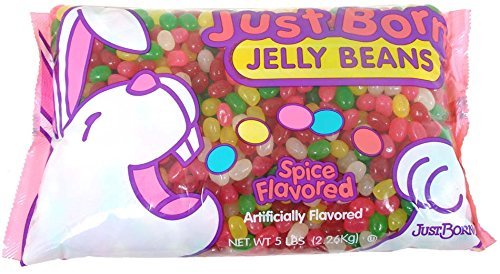 Just Born Spiced Jelly Beans Bulk - 4.5 Lb Bag