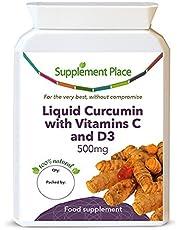 NovaSOL Liquid Curcumin Capsules with Vitamin C and D3, 240 Capsules - Supersaver
