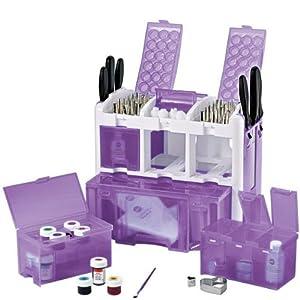 Amazon Com Ultimate Tool Caddy Purple 3 Level Cake