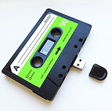 4GB USB Mixtape Retro Quirky Gift Cool Cute Love