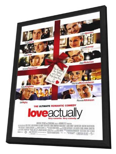 2003 Deluxe Framed - Movie Posters Love Actually - 27 x 40 Framed
