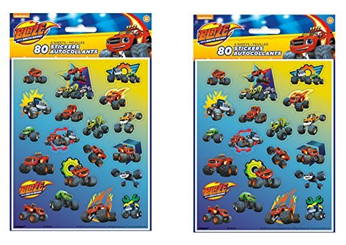 Blaze and the Monster Machines 8 Sticker sheets (160 total stickers) -
