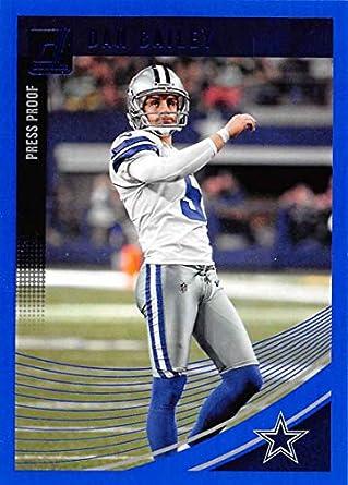 9d5d022af69 2018 Donruss Press Proof Blue #81 Dan Bailey Cowboys NFL Football Card NM-MT