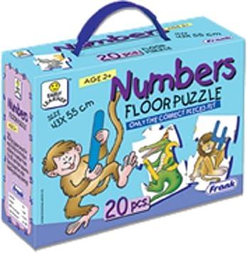Frank Numbers Floor Puzzle