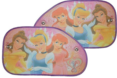 Unbekannt XL - 2 tlg. Set Sonnenschutz Disney Prinzessin Princess Seitenscheibe Sonnenblende für Kinder Auto Kinder-Land