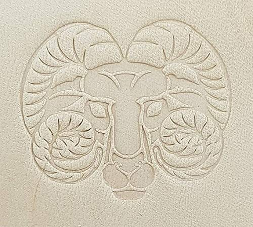 Zodiac Series Leather Stamp Tool Working Carving Punches Tools Craft Saddle Brass #ZodiacSeries by DandS ltd (Image #1)