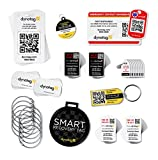 Dynotag® Savvy Traveler ULTIMATE Gift Pack: A Deluxe Assortment of Smart Tags