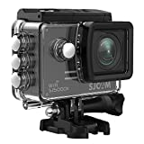 4K Action Camera, SJCAM SJ5000X Elite Waterproof Wifi Underwater Camera- 4k@24FPS 12MP/Gyro Stabilization/2.0 LCD Screen (Waterproof Case & Accessories Included)- Black