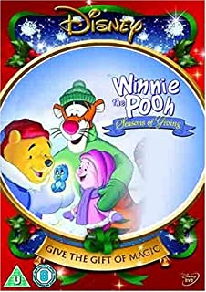 winnie the pooh a very merry pooh year dvd amazon co uk jim