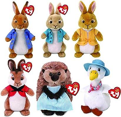 Peter Rabbit Beanie Mopsy Plush
