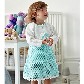 Stylecraft Baby & Mädchen Kleid & Bolero Wondersoft Strickmuster ...
