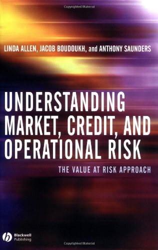 Understanding Market, Credit, and Operational Risk: The Value at Risk Approach by Brand: Wiley-Blackwell