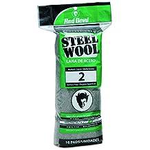 Red Devil 0315 16-Pack Steel Wool, No. 2 Medium Course