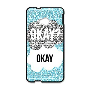 Fresh warm dialogue Cell Phone Case for HTC One M7