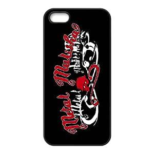 Metal Mulisha theme pattern design For Apple iPhone 5,5S Phone Case