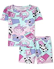 The Children's Place Girls Squishies Snug Fit Cotton Pajamas