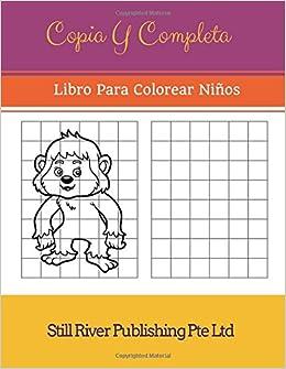 Amazoncom Copia Y Completa Libro Para Colorear Niños Spanish