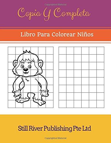 Amazon.com: Copia Y Completa: Libro Para Colorear Niños (Spanish ...