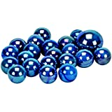 Murmel Kollektion 14001 - Glasmurmel Blue Jay