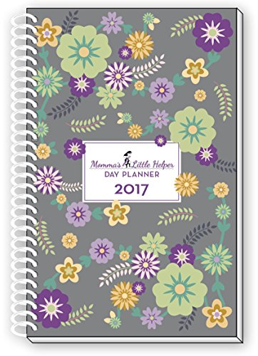 Momma's Little Helper 2017 Floral Mom Daily Day Planner Weekly Agenda Organizer Calendar Year