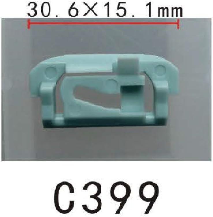 30x High Quality Windshield /& Rear Window Trim Molding Clips For GM 1654047