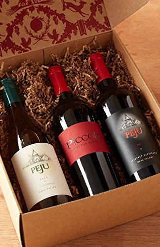 Peju Party in a Box Wine Gift Set, 3 x 750 mL
