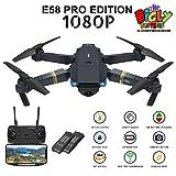 E58 PRO Edition 1080p Drone with Camera 120 Wide Angle, Gesture Control, Voice
