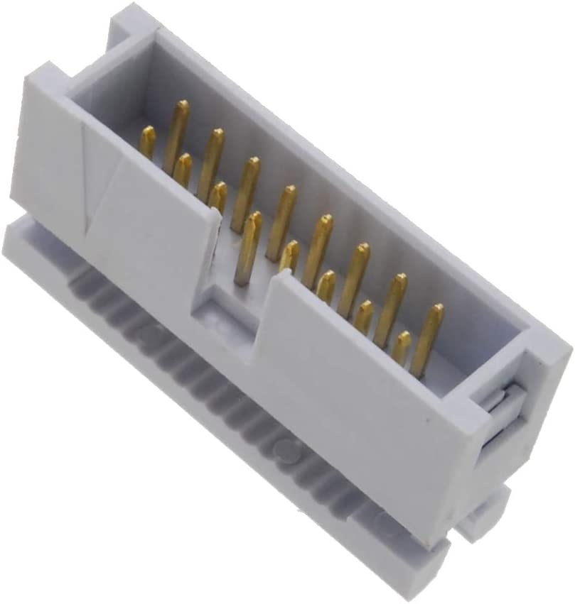 FC-116-10 2x8 Male IDC 2.54mm Pitch Box Header Connectors for Flat Ribbon Cable CablesOnline 10-Pack 16-Pin